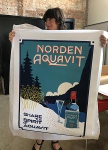 Printed-poster